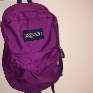 Purple Jansport Backpack!